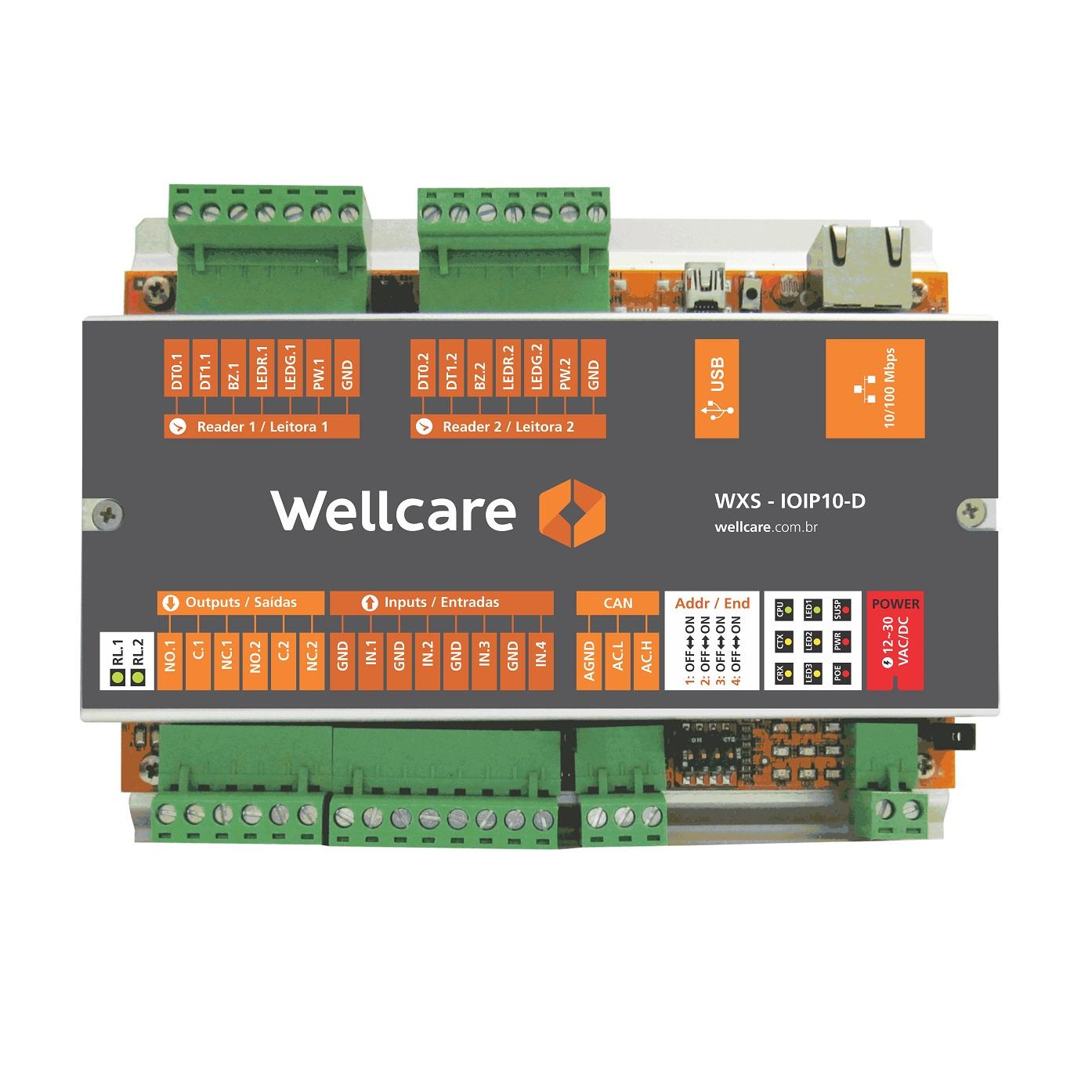 Controlador Avançado WXS-IOIP10-D